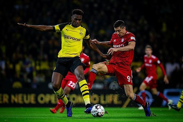 Zagadou has been enormous so far this season, putting in another tremendous shift at the back