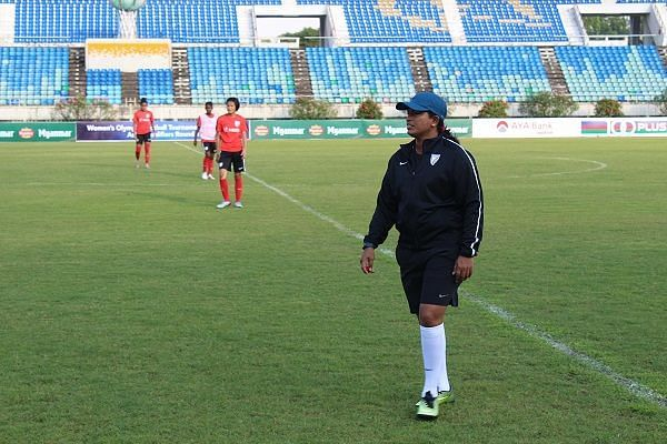 Maymol Rocky, coach of the Indian national women