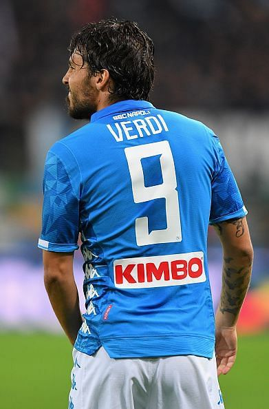 The Italian forward will be missing for Napoli