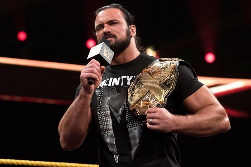 McIntyre impressed many with his NXT Championship reign