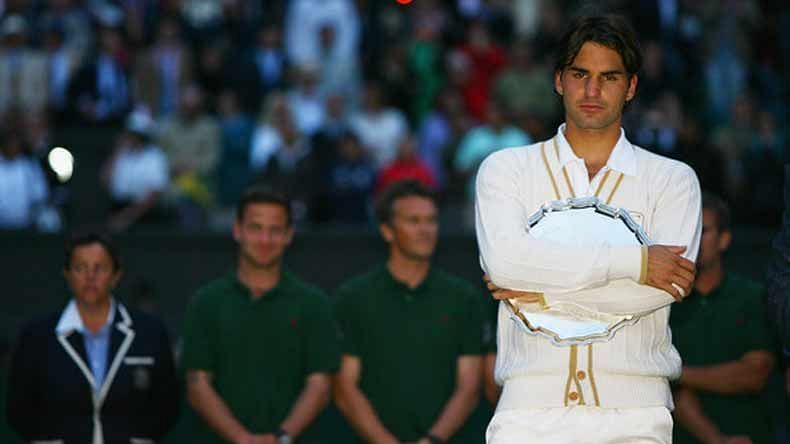 Roger Federer was left inconsolable after the 2008 Wimbledon Final