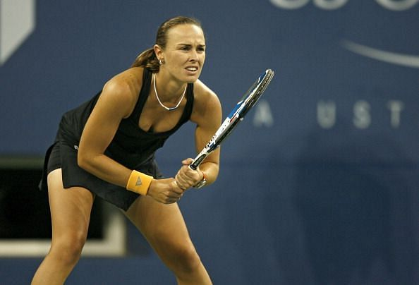 Martina Hingis - The French Open was the only Grand Slam that she never won.
