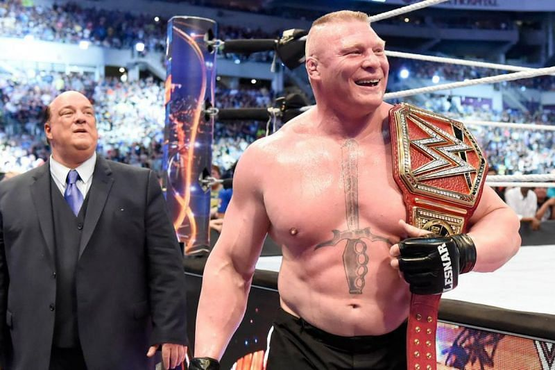 Lesnar as Universal Champion.