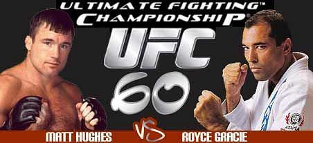 Gracie took on Matt Hughes in his much-hyped UFC return bout