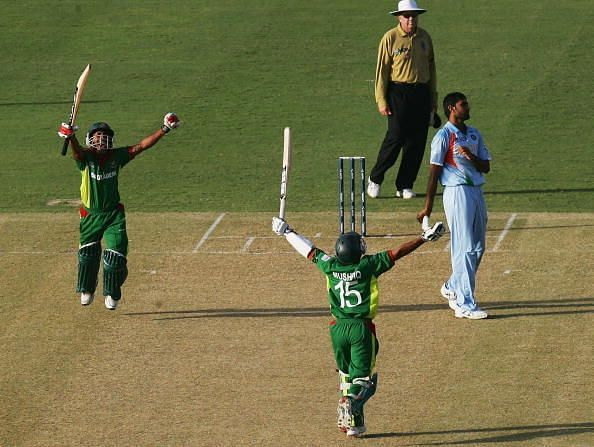 Bangladesh v India - Cricket World Cup 2007