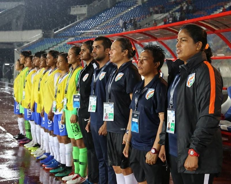 Maymol Rocky (right), the Indian national women
