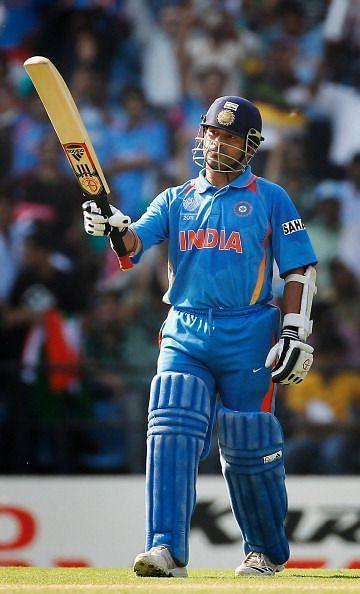 Sachin Tendulkar - most scores in the nineties in ODI