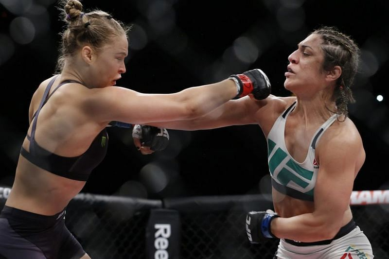 Rousey dispatched Correia in the first round in under a minute
