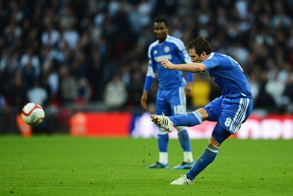 Lampard was an integral part of Jose Mourinho
