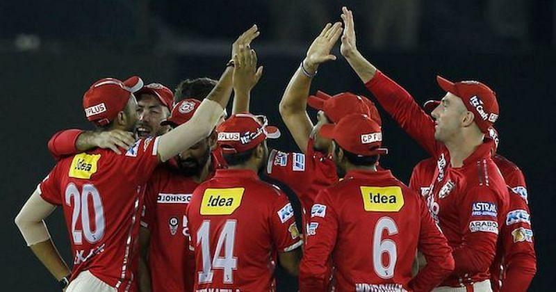 The Kings XI Punjab team