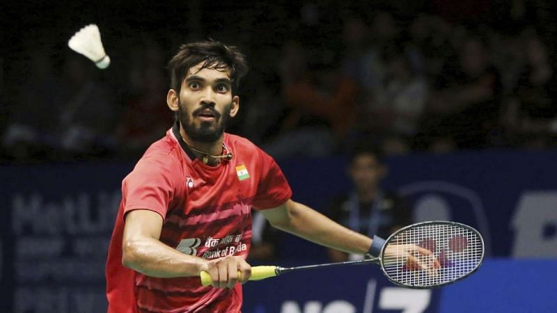 Kidambi Srikanth moves into second round.