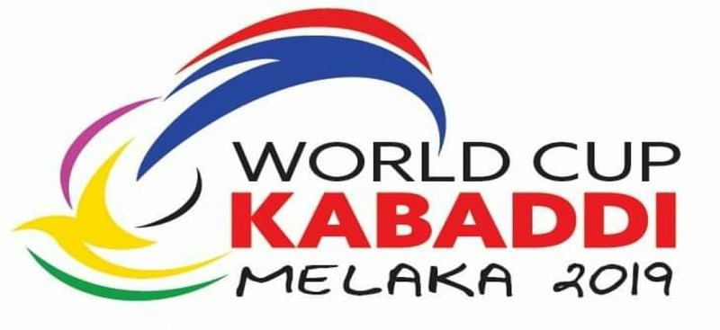 The logo of World Cup Kabaddi 2019.
