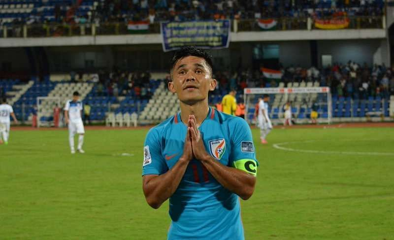 Indian fans would be hoping for a shining performance from their captain Sunil Chhetri.