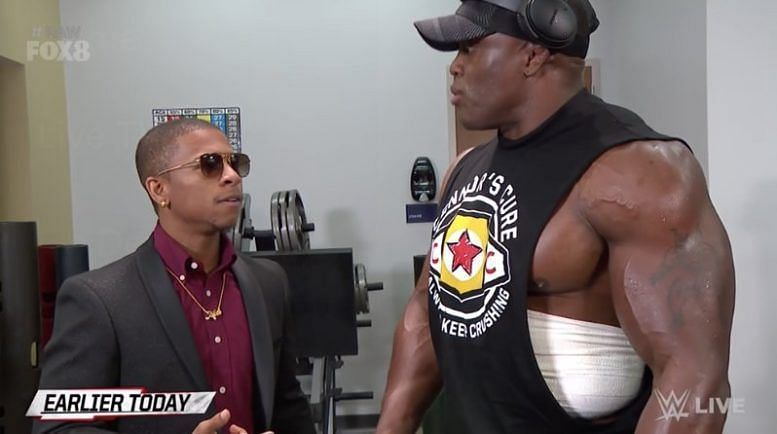 Lashley and Corbin have good relations on screen