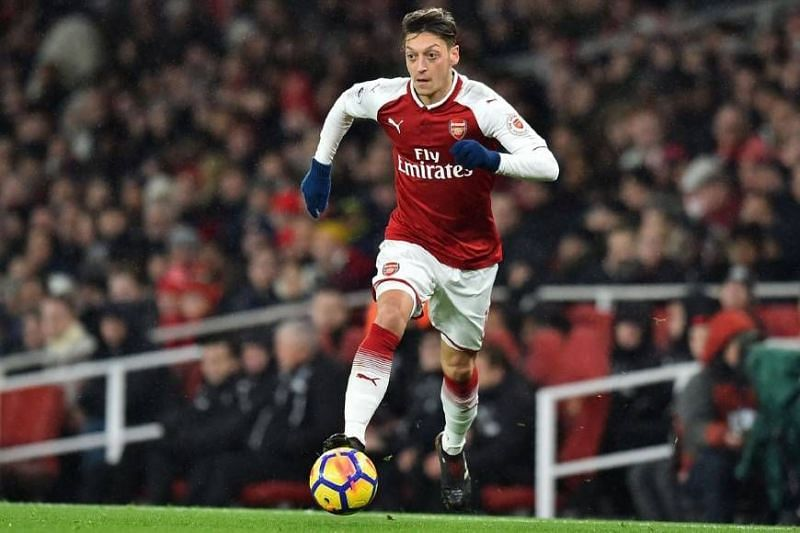 Mesut Ozil can be unplayable at times, however has been accused of going missing in big games.