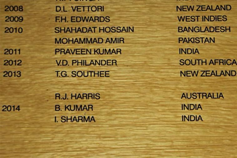 Quite a few Indians have their names on the elite board, but not Sachin