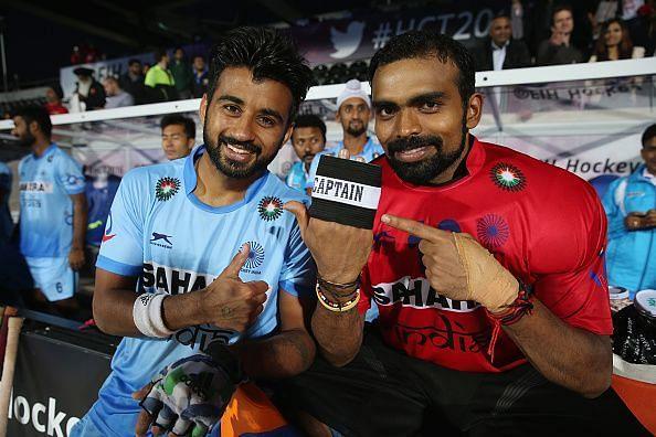 Manpreet Singh and PR Sreejesh: the key to India