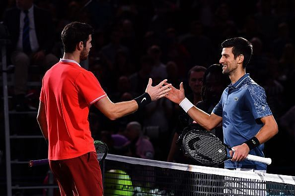 Novak Djokovic was the overwhelming favourite coming into the final