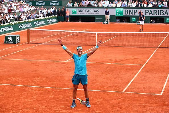 Rafael Nadal - God of the Clay
