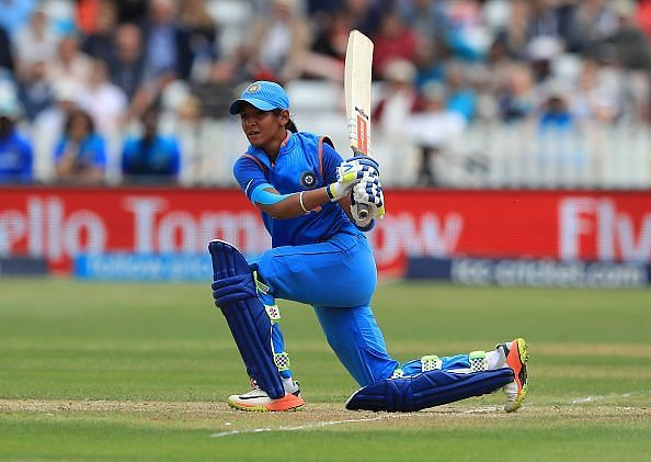 Harmanpreet Kaur provided the impetus for India in their match against New Zealand