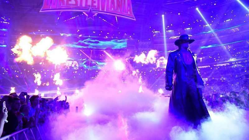 The Undertaker is a legend