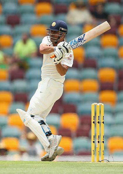 Dhoni had an average Test career