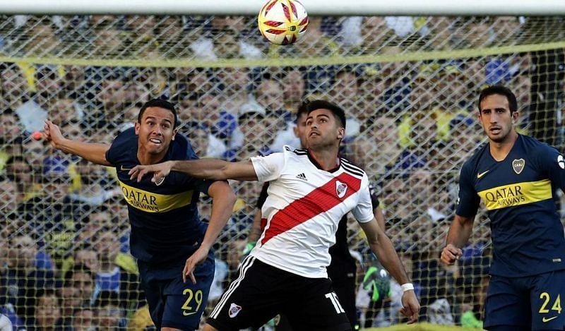 The Superclasico rivals will do battle in the Copa Libertadores final
