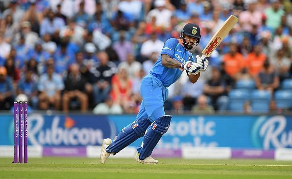 Dhawan scored 42-ball 76