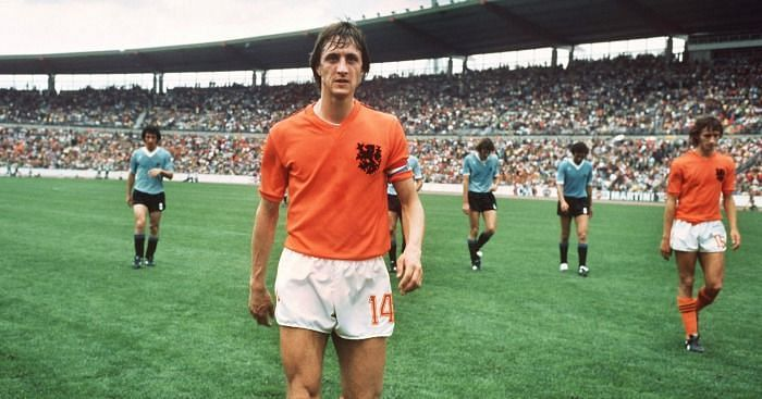 Johan Cruyff was an outstanding footballer