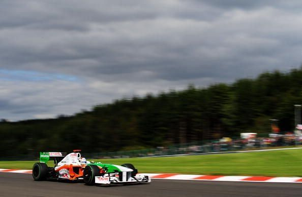 Fisichella secured Force India