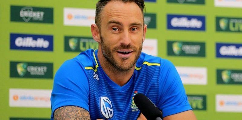 Du Plessis told the Aussies to give Kohli the