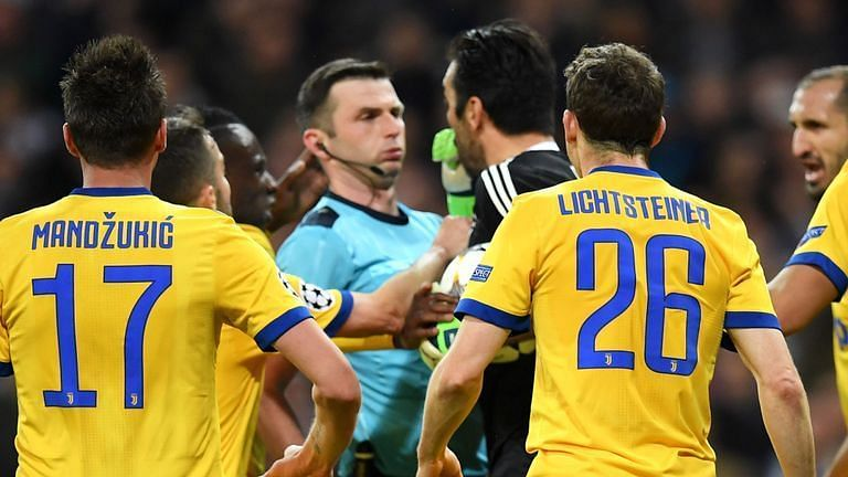 Image result for oliver sending buffon off