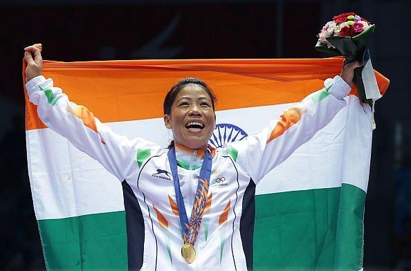 Five-time World Champion Chungneijang Mary Kom Hmangte