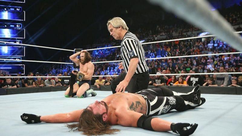 AJ Styles lost to Daniel Bryan on SmackDown