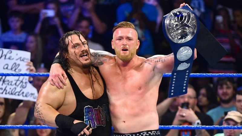 Heath Slater and Rhyno won the tournament to be crowned the inaugural SD Live Tag Team Champions