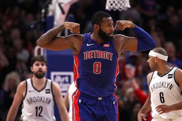 25-year-old Andre Drummond is in the prime of his career