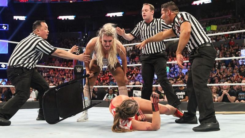 Why Charlotte attacked Ronda Rousey?