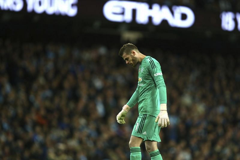 De Gea is reportedly set to leave Old Trafford