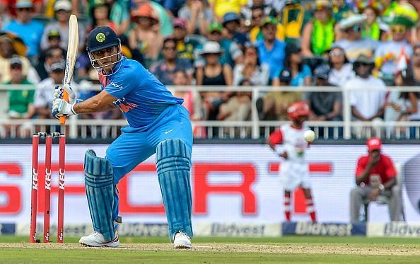 MS Dhoni, the batsman, has been on a decline