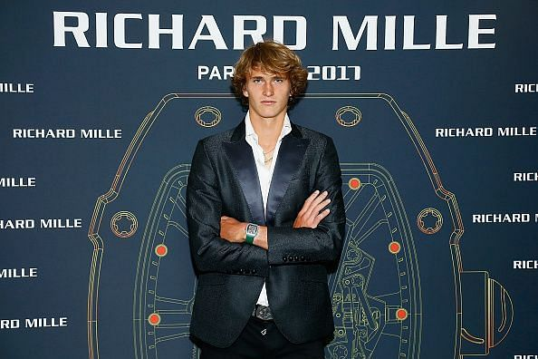 Gala Dinner For the Launch Of The New Richard Mille Watch featuring Alexander Zverev