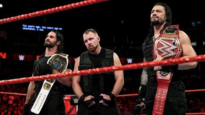 The Shield turned face when they stood up to The Authority.
