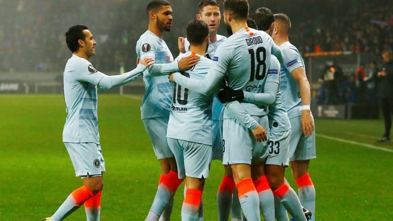 Chelsea qualify for the knockout stages