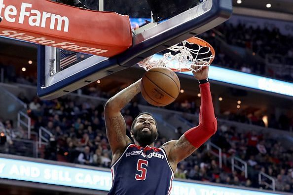 The Wizards are open to trading Morris