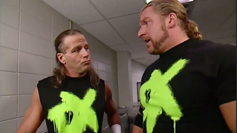 HBK and Triple H