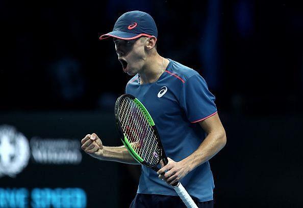 Alex de Minaur: Next Gen ATP Finals - Day Four
