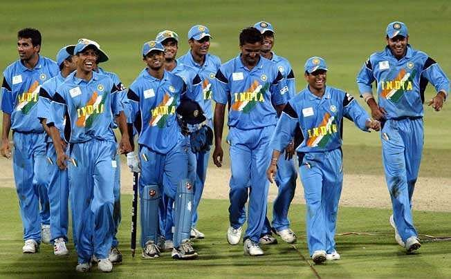 Indian team at 2003