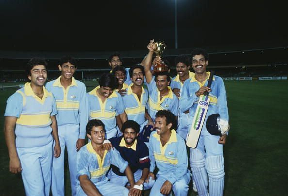Indian Team 1980 World Series Champions