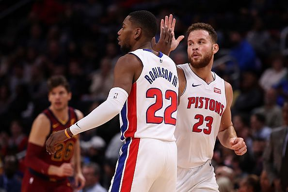 The Pistons have shown that they can compete