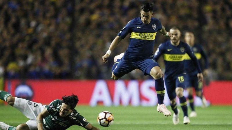 Boca Juniors overcame Palmeiras in the semi-final