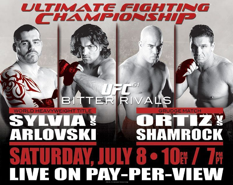 UFC 61 disappointed inside the Octagon but was a colossal success at the box office